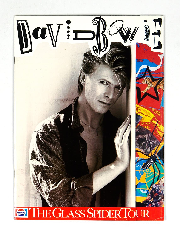 David Bowie Program book 1987 The Glass Spider Tour
