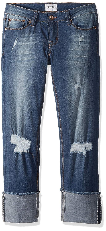 HUDSON Girls Roll Cuff Crop Pant