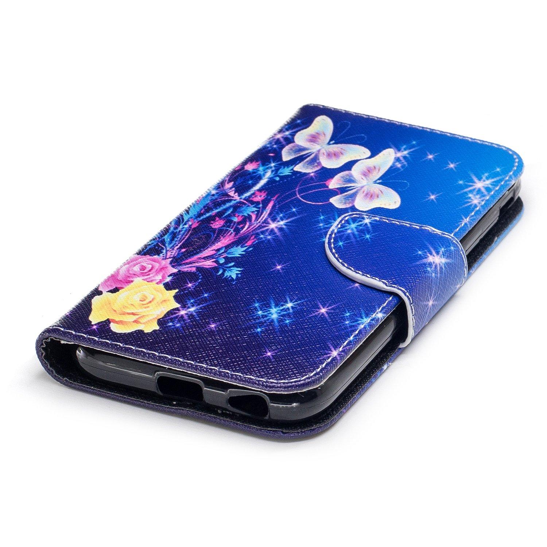 - BFE102759 N7 NEXCURIO Coque Galaxy J3 2017 // J330 Cuir PU /à Rabat 2017 /Étui Housse Portefeuille Magnetique Antichoc avec Fonction de Support pour Samsung Galaxy J3