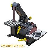 POWERTEC BD1500 Belt Disc Sander for Woodworking
