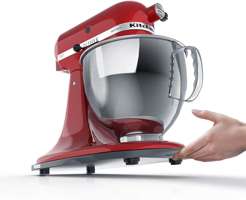 KitchenSlider M - Bandeja deslizante para KitchenAid Artisan y Classic Gris medianoche: Amazon.es: Hogar