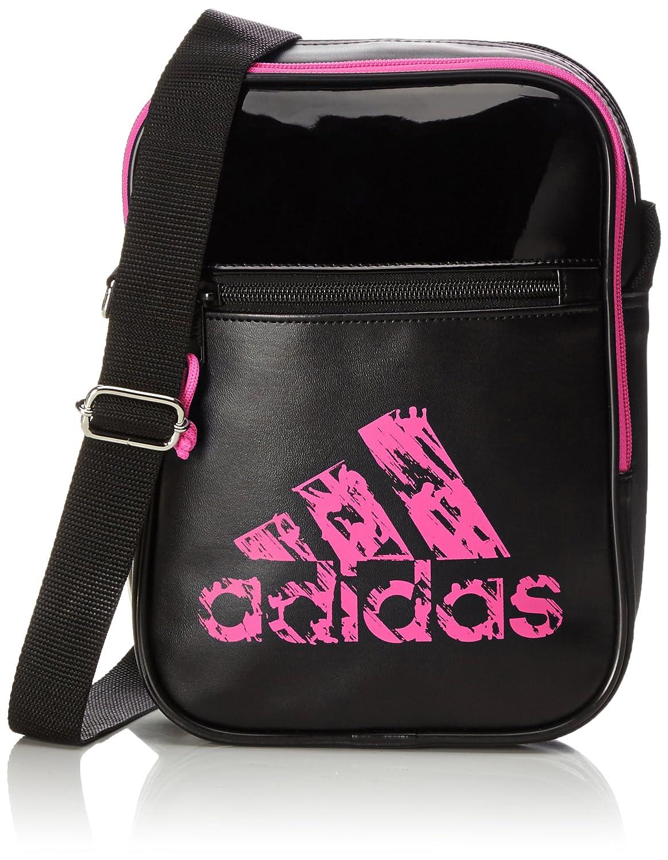 adidas Small Items Bag - Boxing, Taekwondo, Karate, Judo, BJJ, MMA, Kickboxing Black/Pink 18 x 25 x 7 cm ADIL0|#adidas ADIACC02