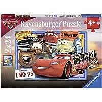 Ravensburger 7819 - Disney Two Cars Puzzle 2x24pc Jigsaw Puzzle