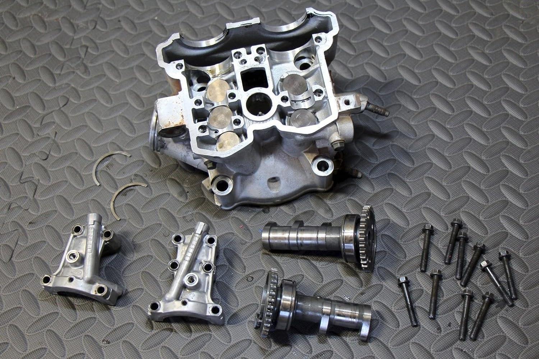 Amazon com: Yamaha YFZ450 OEM cylinder head + valves + cams