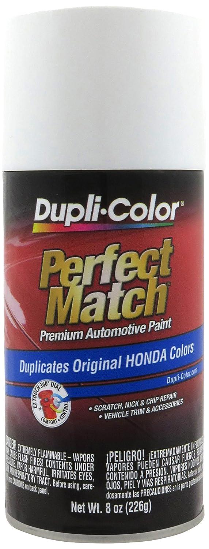 Dupli-Color EBHA09947 White Pearl Honda Perfect Match Automotive Paint - 8 fl. oz. Aerosol