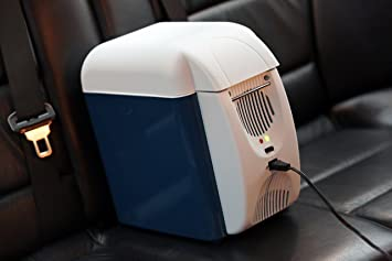 Auto Mini Kühlschrank 12v : Elektrische mini kühlbox mit warm kaltfunktion und tragriemen für