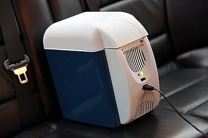 Amazon.es: Bolsa térmica eléctrica de 7, 5 l, nevera portátil para ...