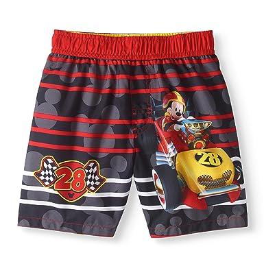 f212de4a52065 Amazon.com: Fashion Toddler Boys Disney Mickey Mouse Roadster Racers ...