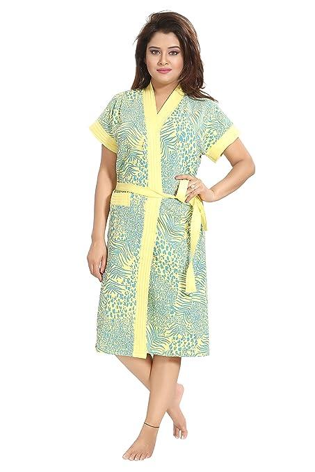 5d35814e6a Buy Inner Beats Women Pure Cotton Bathrobe