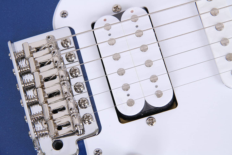 selector pastillas de 5 posiciones color az/úl met/álico escala 25.5 Yamaha Pacifica 012 Guitarra El/éctrica 64.77 cm 6 cuerdas Guitarra 4//4 de madera