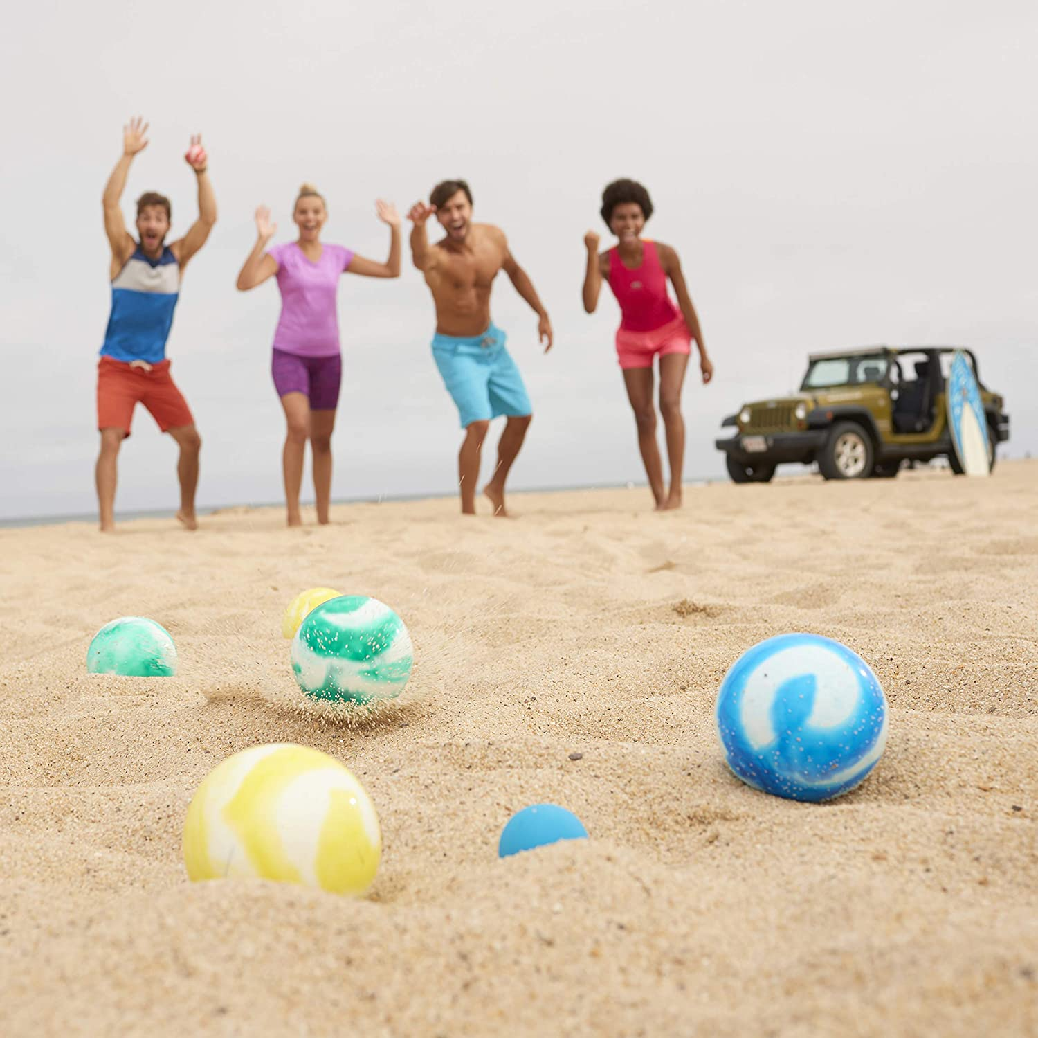 Franklin Sports Soft Bocce Set - Perfect for Beach, Backyard or Outdoor Party