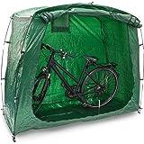 Relaxdays Tente pour vélos camping vacances abri housse de protection Garage rangement Stockage vélo VTT bicyclette jardin, vert