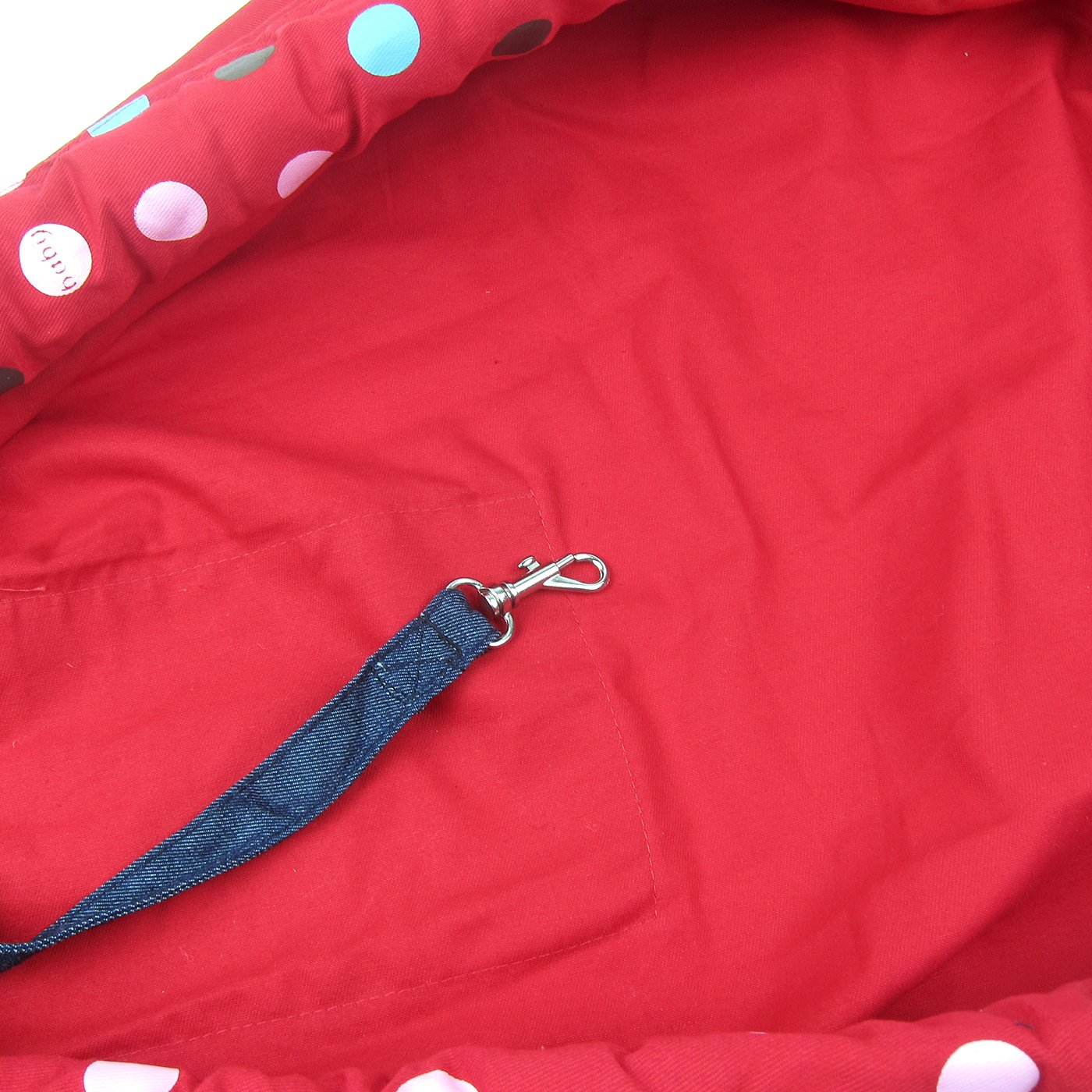 Alfie Pet by Petoga Couture - Hollis Pet Sling Carrier with Adjustable Strap - Color: Red by Alfie (Image #5)