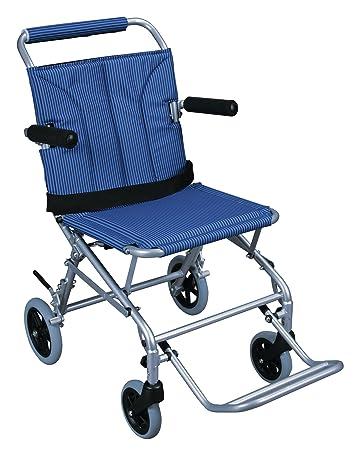 Amazon.com: Silla de ruedas plegable con bolsa de transporte ...