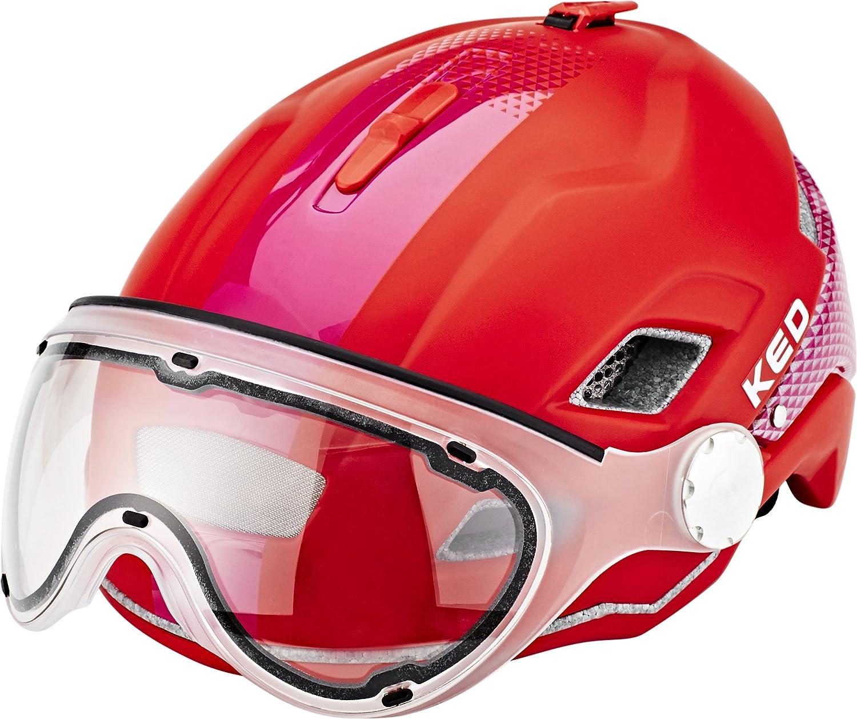 KED B-VIS Helmet ROT Violet Kopfumfang 52-58 cm 2017 mountainbike helm downhill