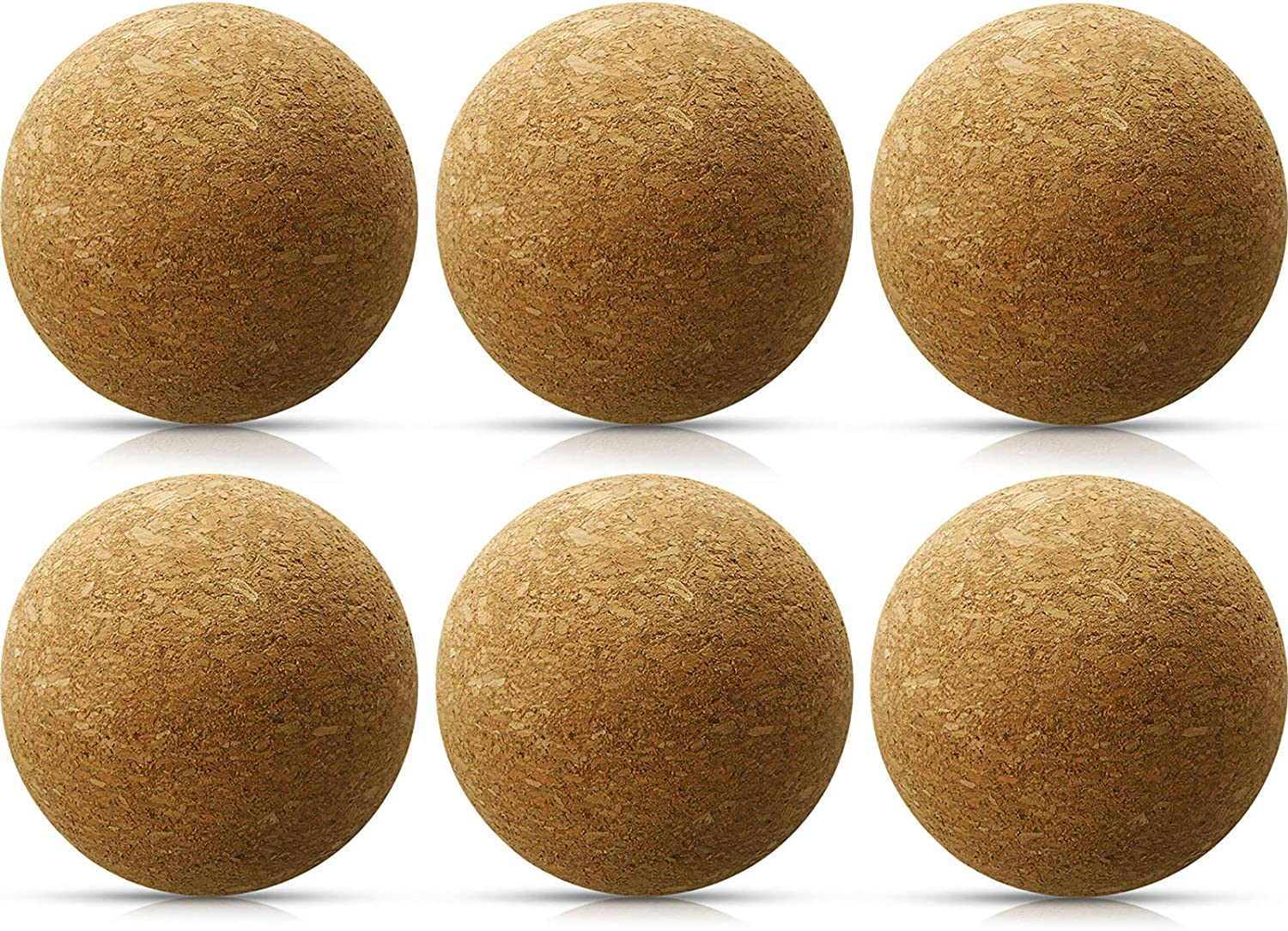 2 inches Ball Cork Package of 10 Replacement for Wine Decanter Wood Round Ball Cork Stopper