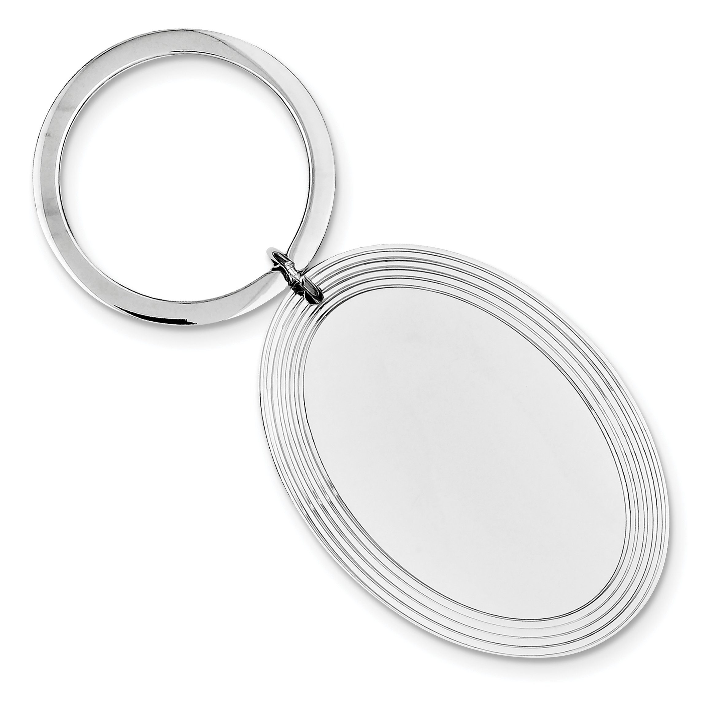 925 Sterling Silver Key Chain