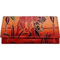 Zint Shantiniketan Pure Leather Elephant Design Women's Wallet Clutch Purse