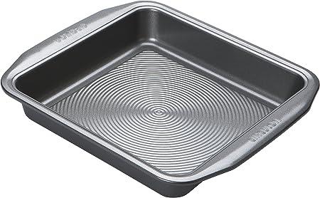 Prestige Inspire Heavy Gauge Carbon Steel 23 x 23 x 4.5 cm 9inch Square Cake Tin Non Stick
