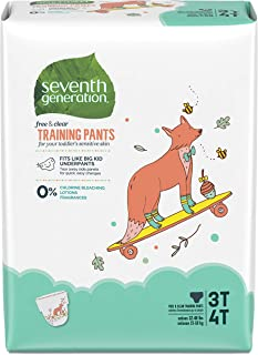 product image for Seventh Generation Baby & Toddler Training Pants, Large Size 3T-4T, 88 count1