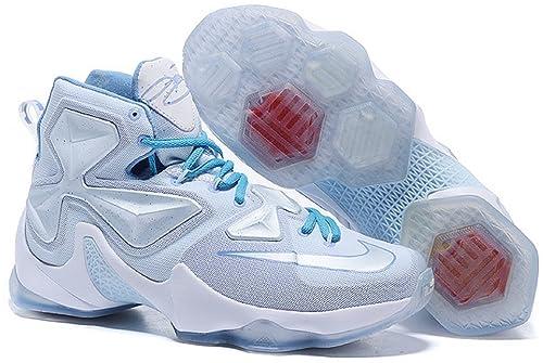 """new product 8b0aa af342  ナイキ  LEBRON XIII XMAS """"LEBRON 13 CHRISTMAS"""" SUMMIT WHITE BLUE TINT"""