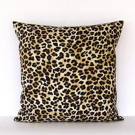MUSTYDF Leopard Pillow Cover Decorative