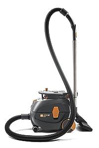 TASKI Aero 8 Plus Canister Dry Vacuum, 3.5 gallon, Grey/Orange