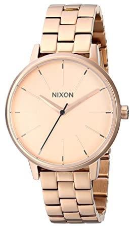 c17422f4379be8 Nixon Kensington A099. 100m Water Resistant Women's Watch (37mm Watch Face.  16mm Stainless Steel Band)
