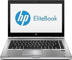 HP EliteBook 8470p D3U49AW 14 LED Notebook Intel Core i5-3340M 2.7GHz 4GB DDR3 500GB HDD DVD-Writer AMD Radeon HD 7570M Windows 7 Professional 64-bit Platinum (Hewlett Packard D3U49AW#ABA)
