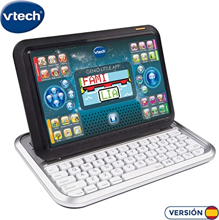 Tablet educativa diseñada específicamente para niños, que se convierte en portátil deslizando el tec