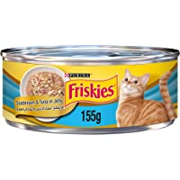 Purina Friskies with Seabream & Tuna in Jelly Wet Cat Food 155g