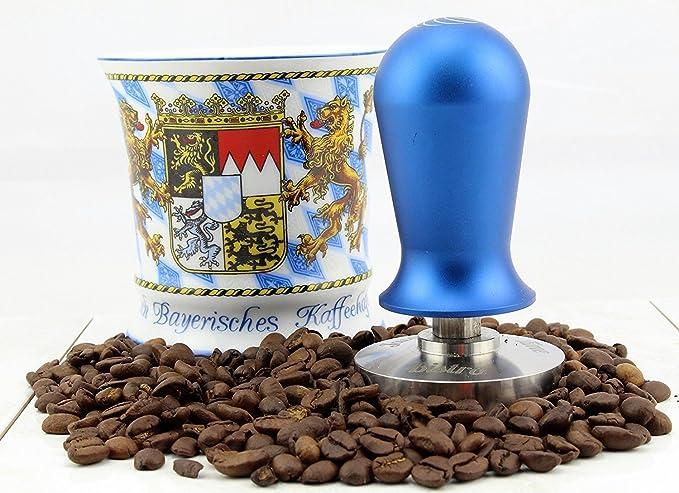 Java Time Bistro - Mezclador de café y espresso (calibrado, 58 mm, incluye bolsa de almacenamiento), color negro: Amazon.es: Hogar