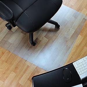 Marvelux Vinyl (PVC) Office Chair Mat for Hardwood Floors