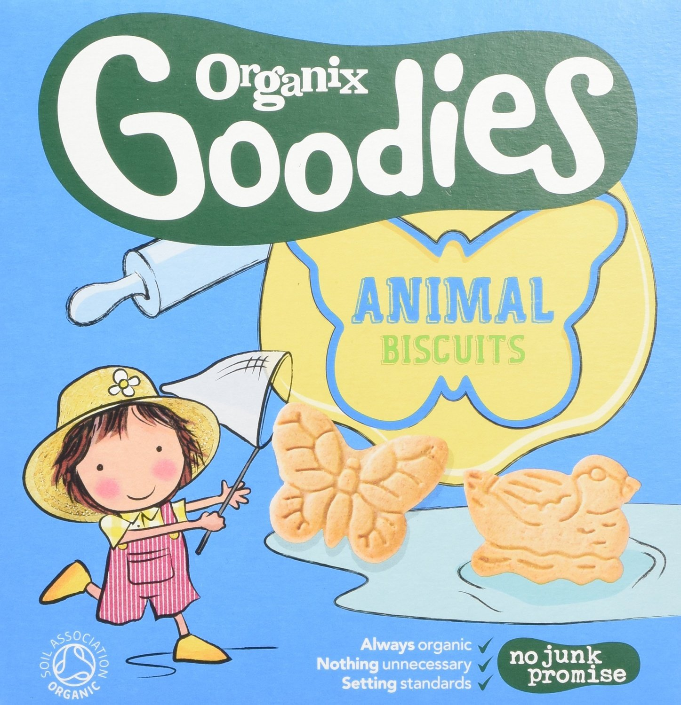 (10 PACK) - Organix - Goodies Animal Biscuits | 100g | 10 PACK BUNDLE