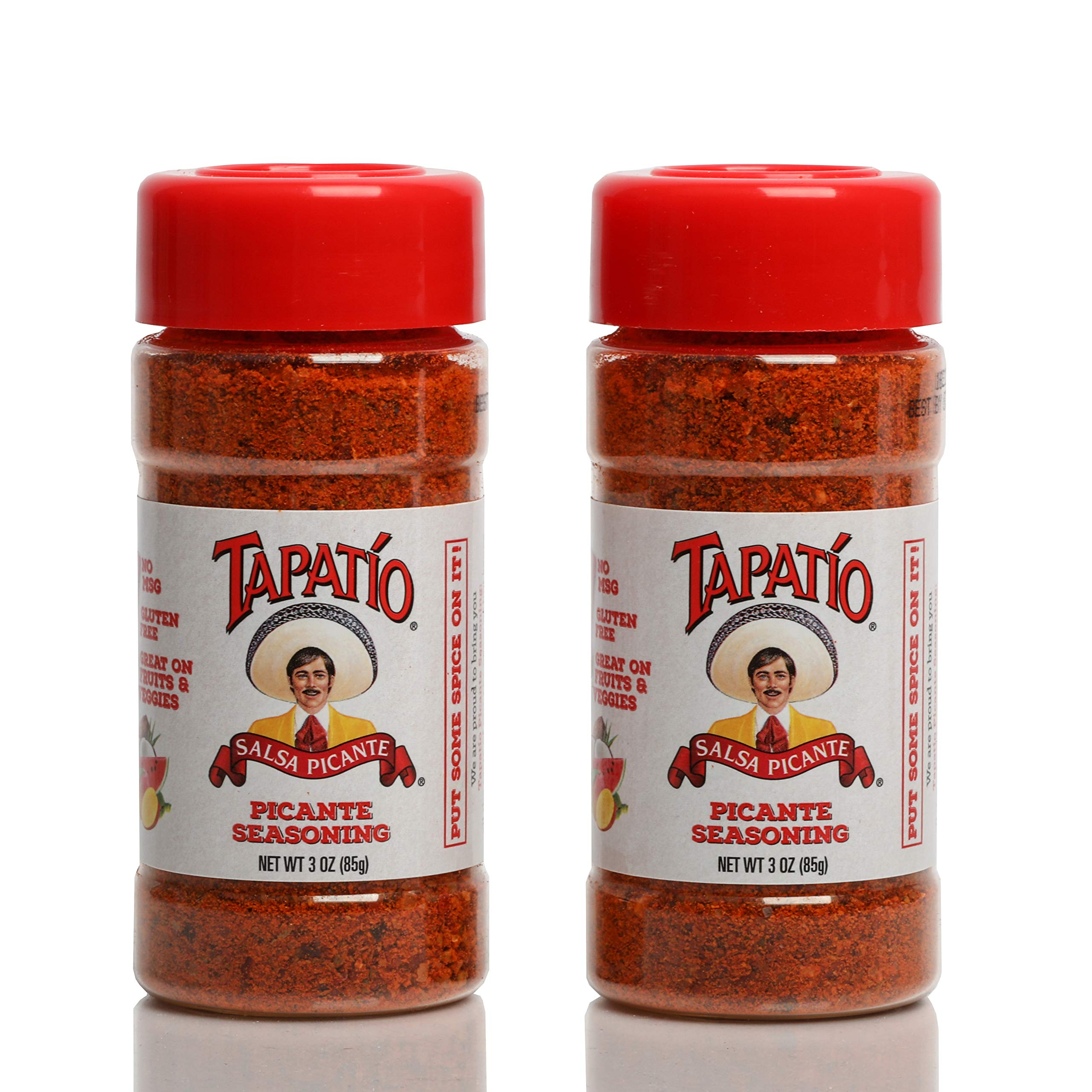 Tapatio Salsa Picante Mexican Seasoning | No MSG, Gluten Free, Vegan and Keto Friendly