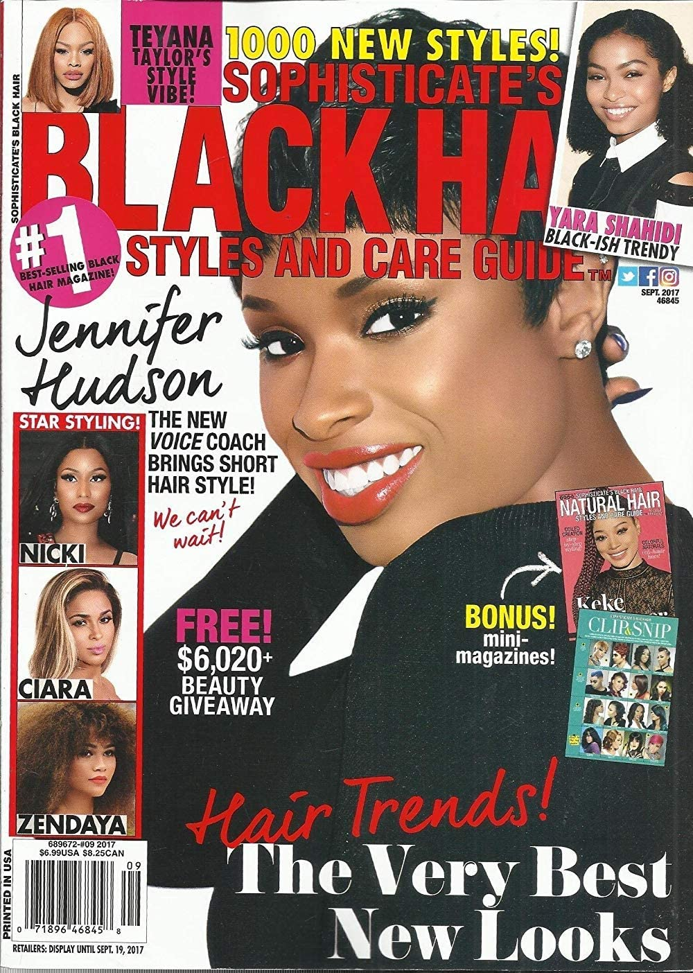 Amazon Com Sophisticate S Black Hair Styles And Care Guide Magazine September 2017 Everything Else
