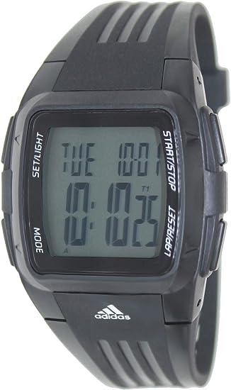 adidas Performance - Reloj digital de cuarzo para niño con correa de plástico, color negro: Adidas: Amazon.es: Relojes