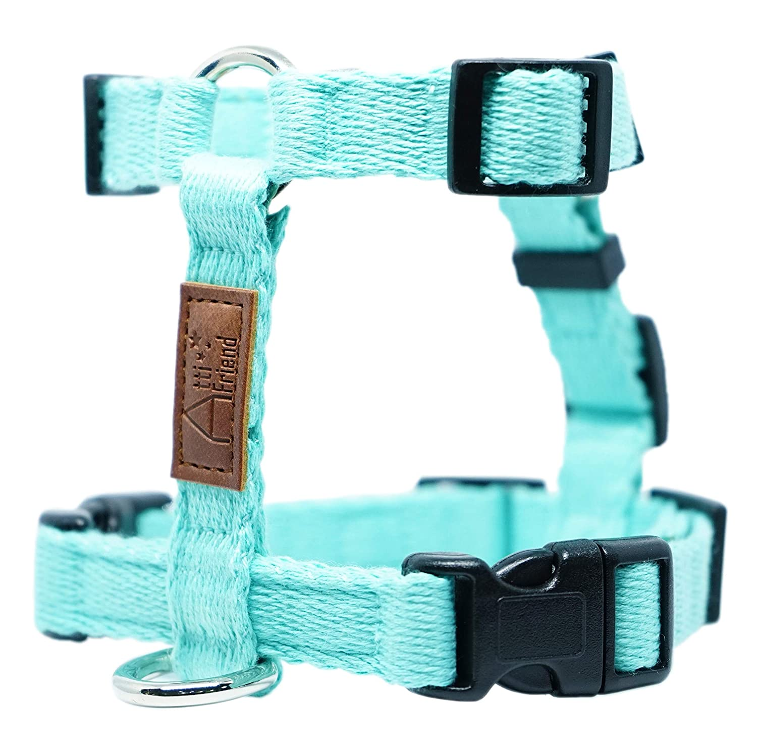 MINT X LARGE MINT X LARGE ATTI FRIEND Dog Harness; Adjustable Length and Easy Control; Pet Training; Variety color Choices; 4 Available Sizes (S M L XL); (X Large, Mint)