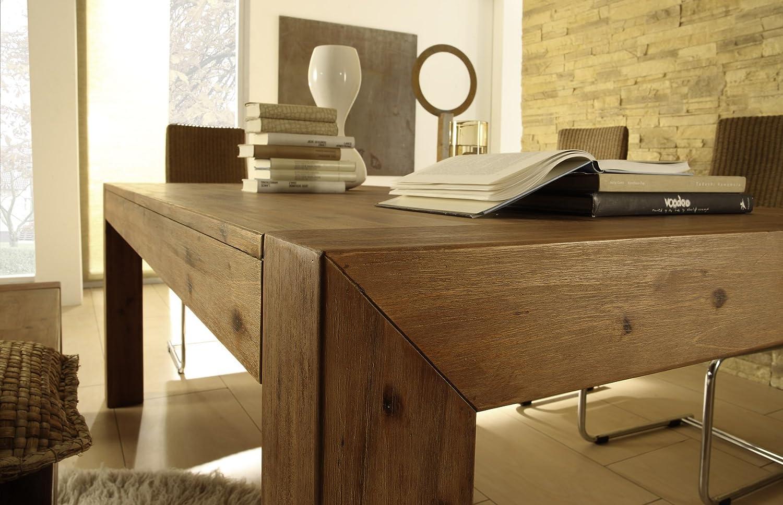 design tische holz tolix style tisch holz mit topoption. Black Bedroom Furniture Sets. Home Design Ideas