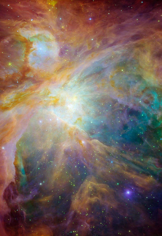 NASA Orion Nebula Hi Gloss Poster