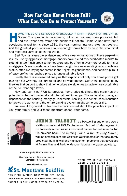 Sell Now!: Johnr  Talbott: 9780312357887: Amazon com: Books