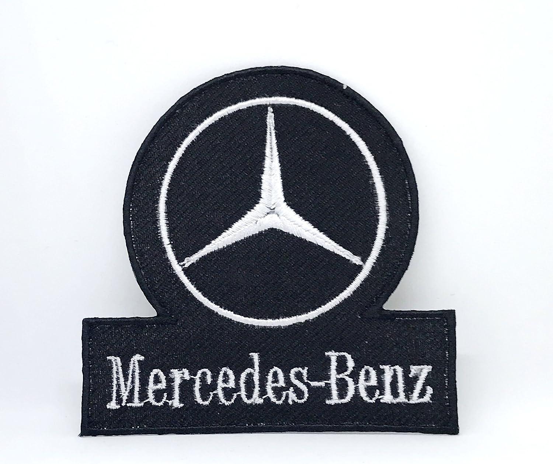 Parche bordado vintage Mercedes-Benz Racing Formula 1 para coser o planchar: Amazon.es: Hogar