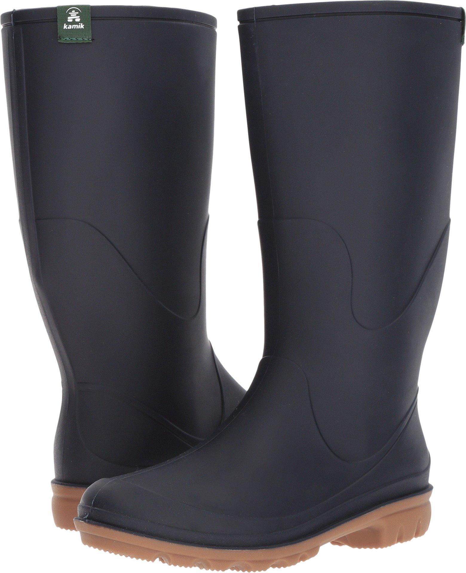 Kamik Women's Miranda Rain Boot, Navy, 7 D US by Kamik (Image #1)