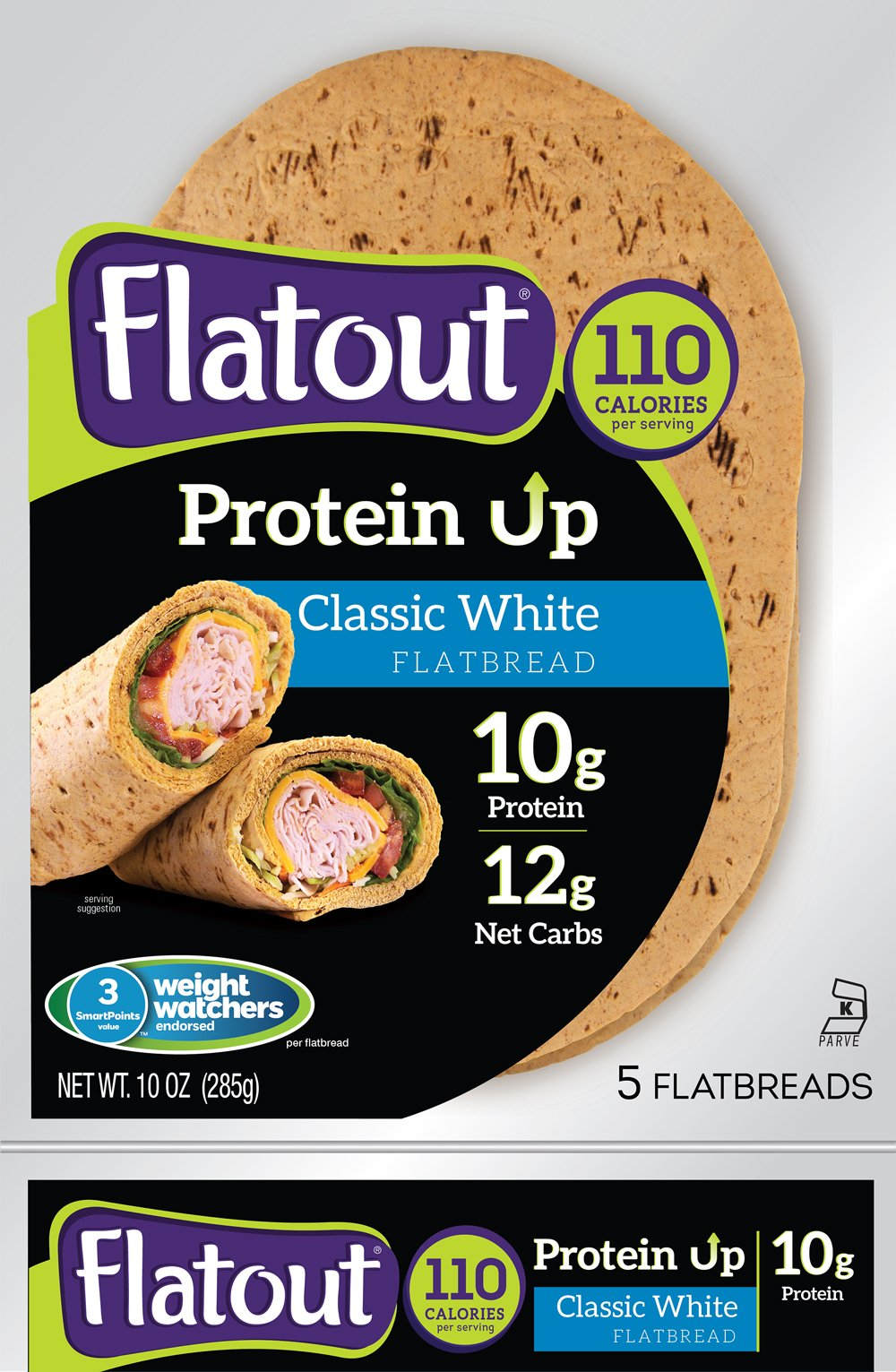 Variety Value Bundle Flatout Proteinup Flatbread All 3