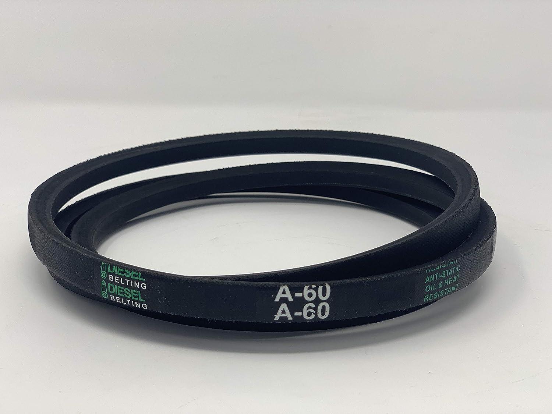 """1//2/"""" x 62/"""" 4L620 Industrial /& Lawn Mower V Belt A60"""