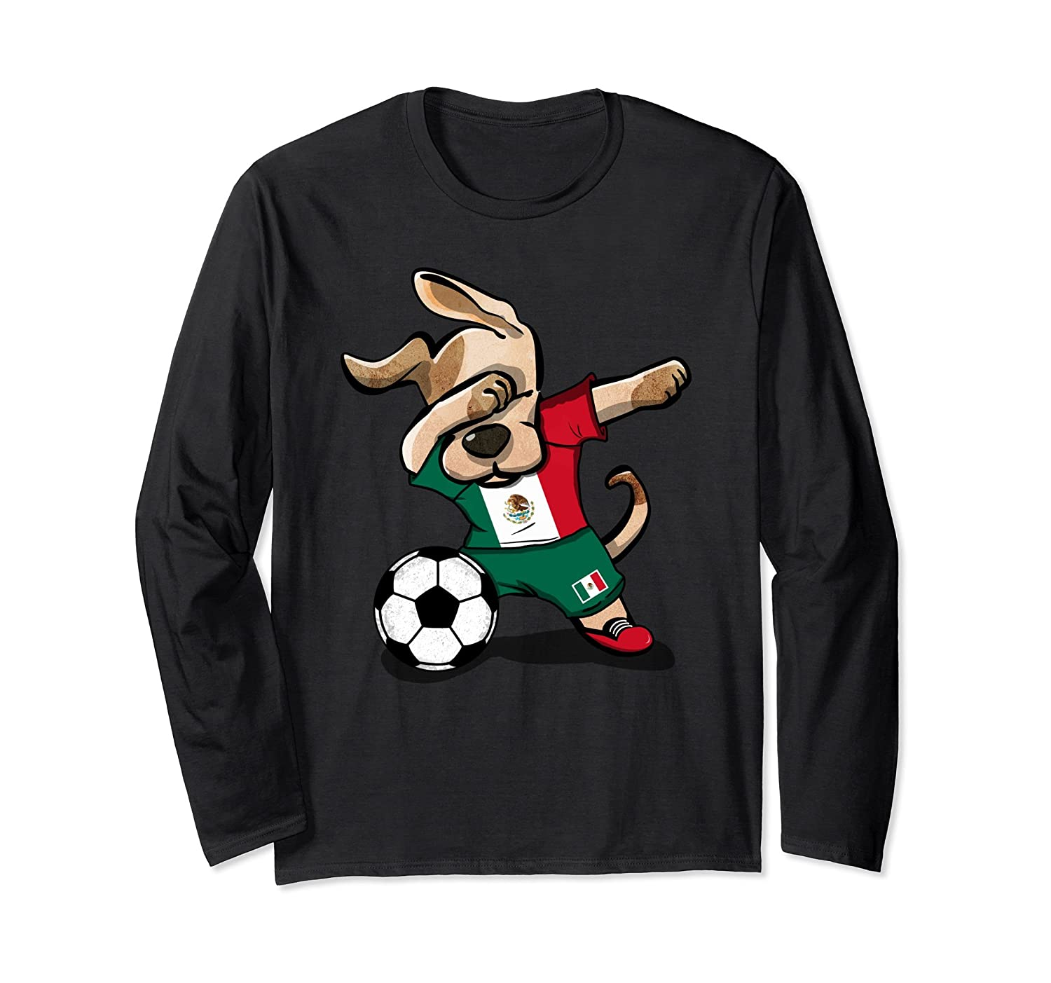 c358f4108ea Dog Dabbing Soccer Mexico Jersey Shirt Mexican Football-anz ⋆ Anztshirt