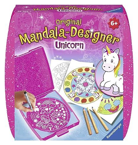Ravensburger Licornes Mini Mandala Designer 29704 Amazon Fr Jeux