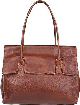 Cowboysbag Sheffield Schultertasche Leder 34 cm: