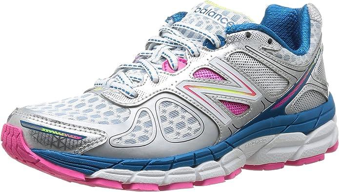 New Balance W 860 B V4 Sneakers Laufschuhe Damen Blau Weiß Rosa