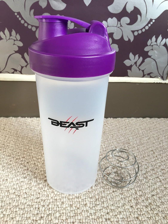 Beast Protein Shaker Batidora de Vaso con Bola mezcladora ...